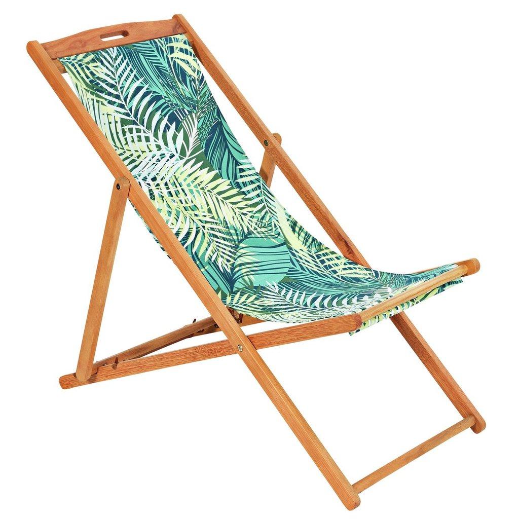 Argos summer deckchair