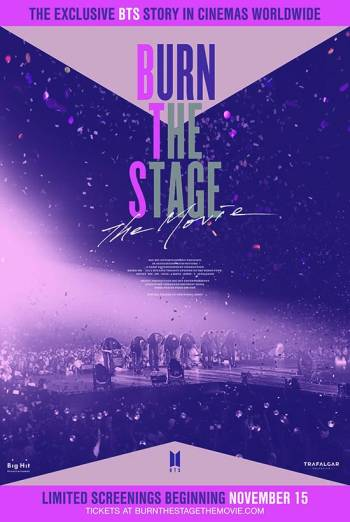 Burn the stage poster