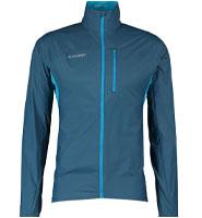 Mammut Blue Lightweight Rain Jacket