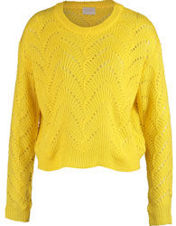 Yellow Knitted Jumper
