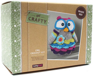 Get Crafty Crochet Owl Kit