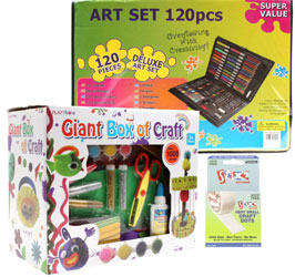 Kids Craft Bundle with Glue Dots