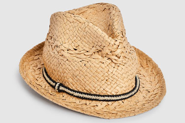 Neutral Trilby Hat