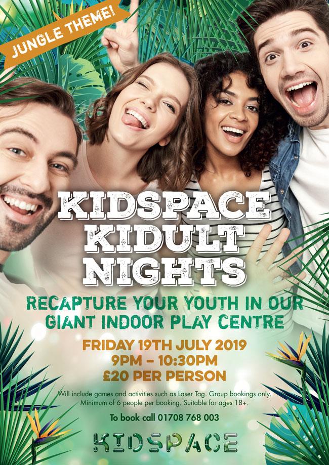Kidspace Kidult Nights