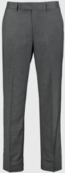 Grey Dogtooth Regular Fit Suit Trousers