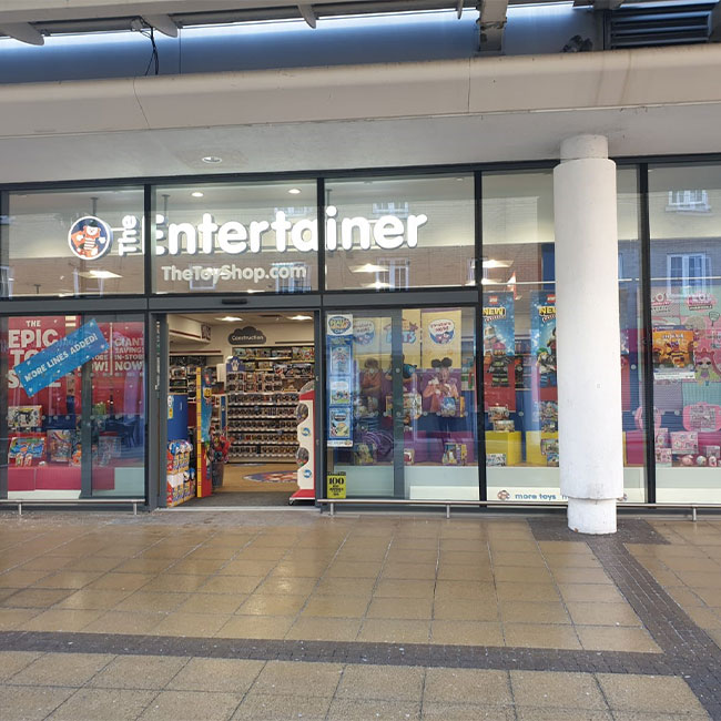 The Entertainer store front