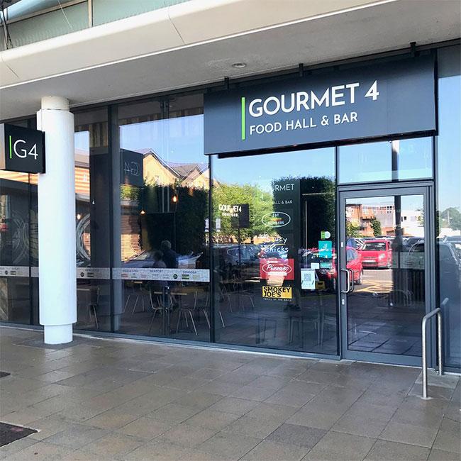 Gourmet 4 store front
