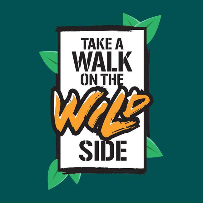 Take a walk on the wild side logo