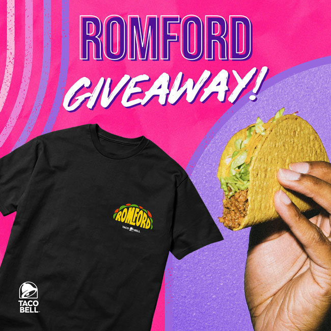 Romford giveaway